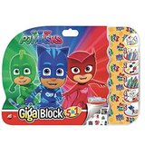 Set creativ Eroi in pijama Giga Block 5 in 1